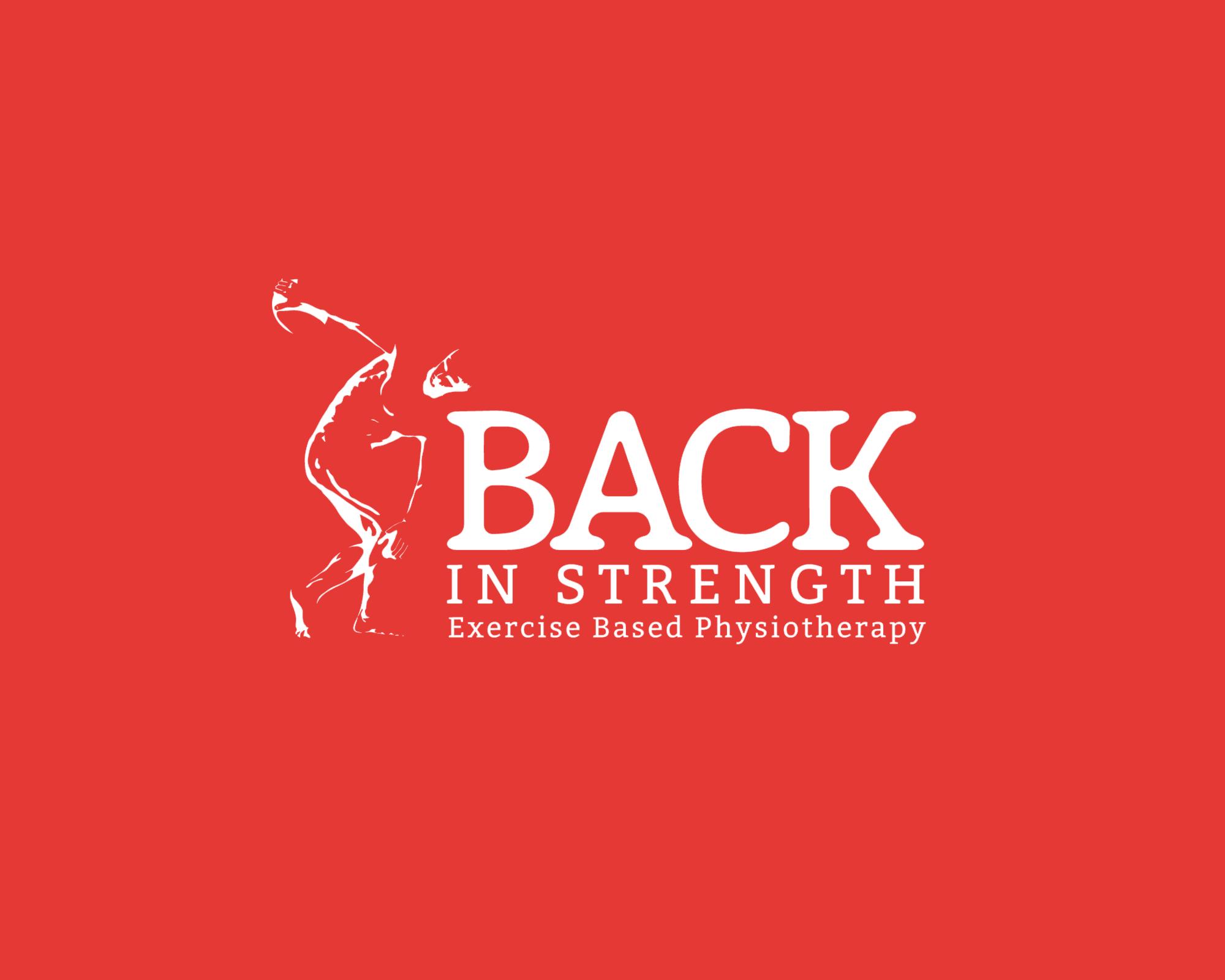 back in strength Logo