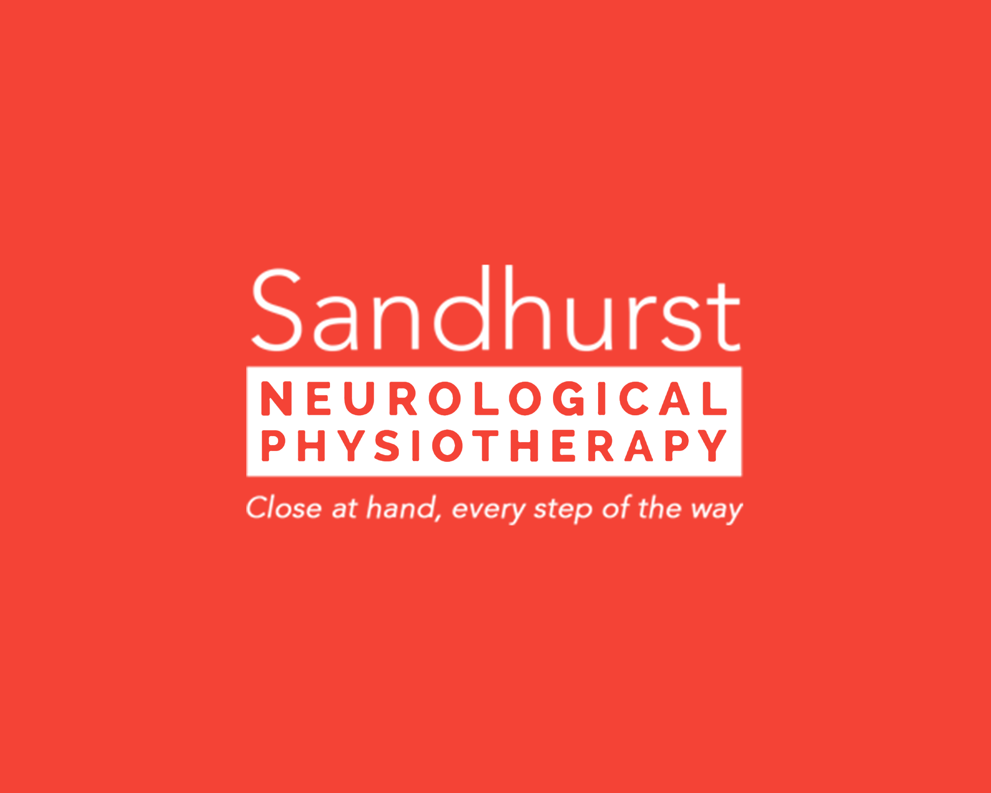 sandhurst neurological physiotherapy Logo