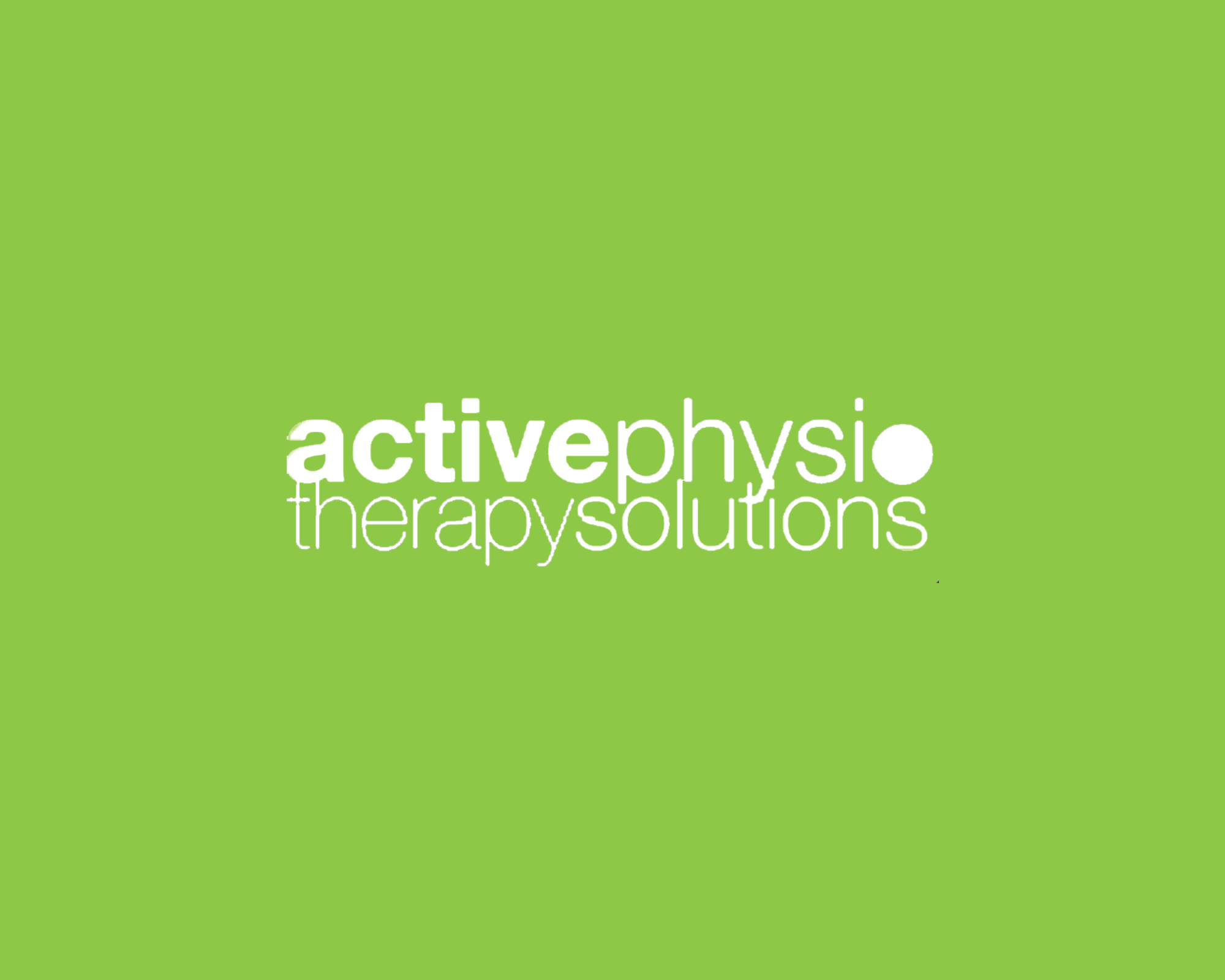 active physio therapy solutions Logo