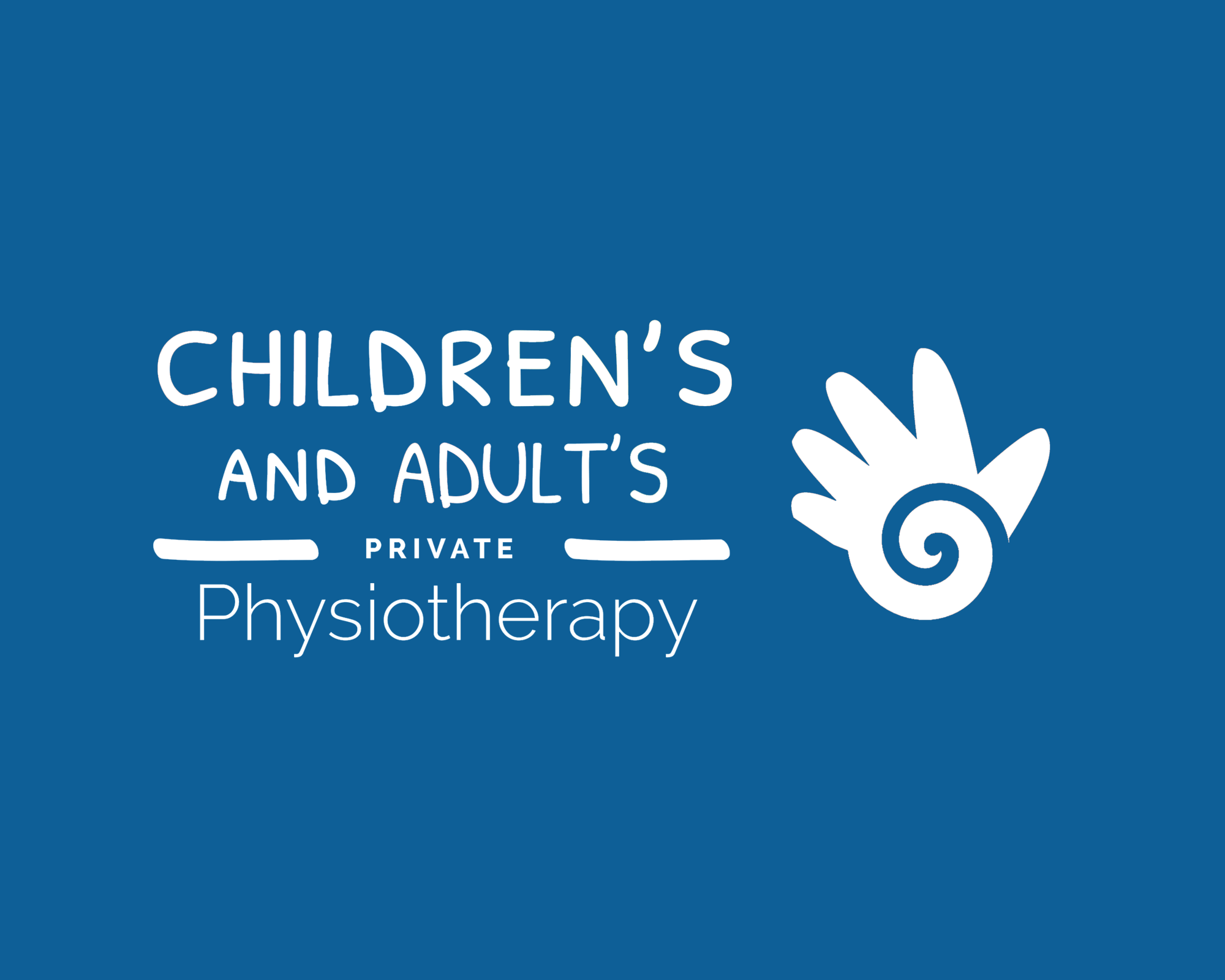 childrens and adults private physiotherapy Logo