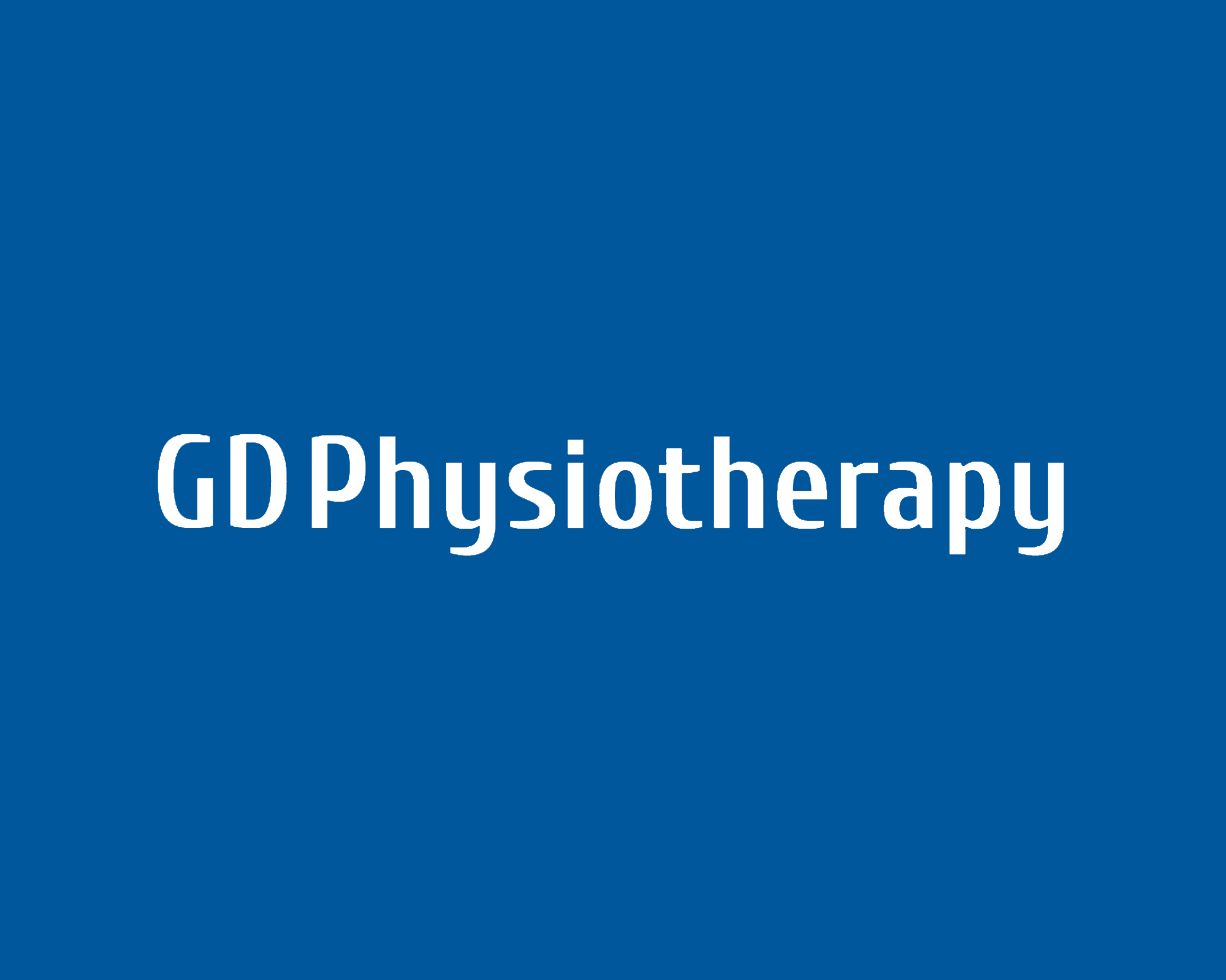 gd physiotherapy Logo