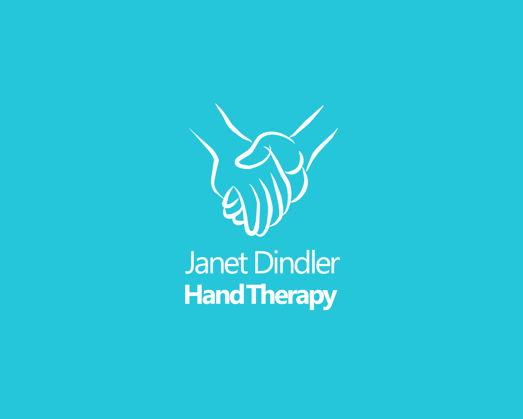 janet dindler hand therapy Logo