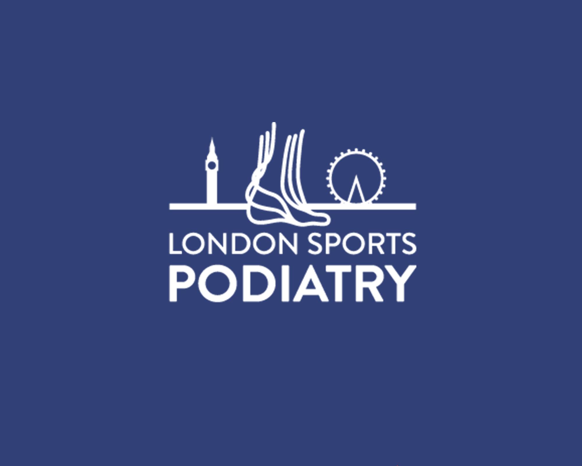 london sports podiatry Logo