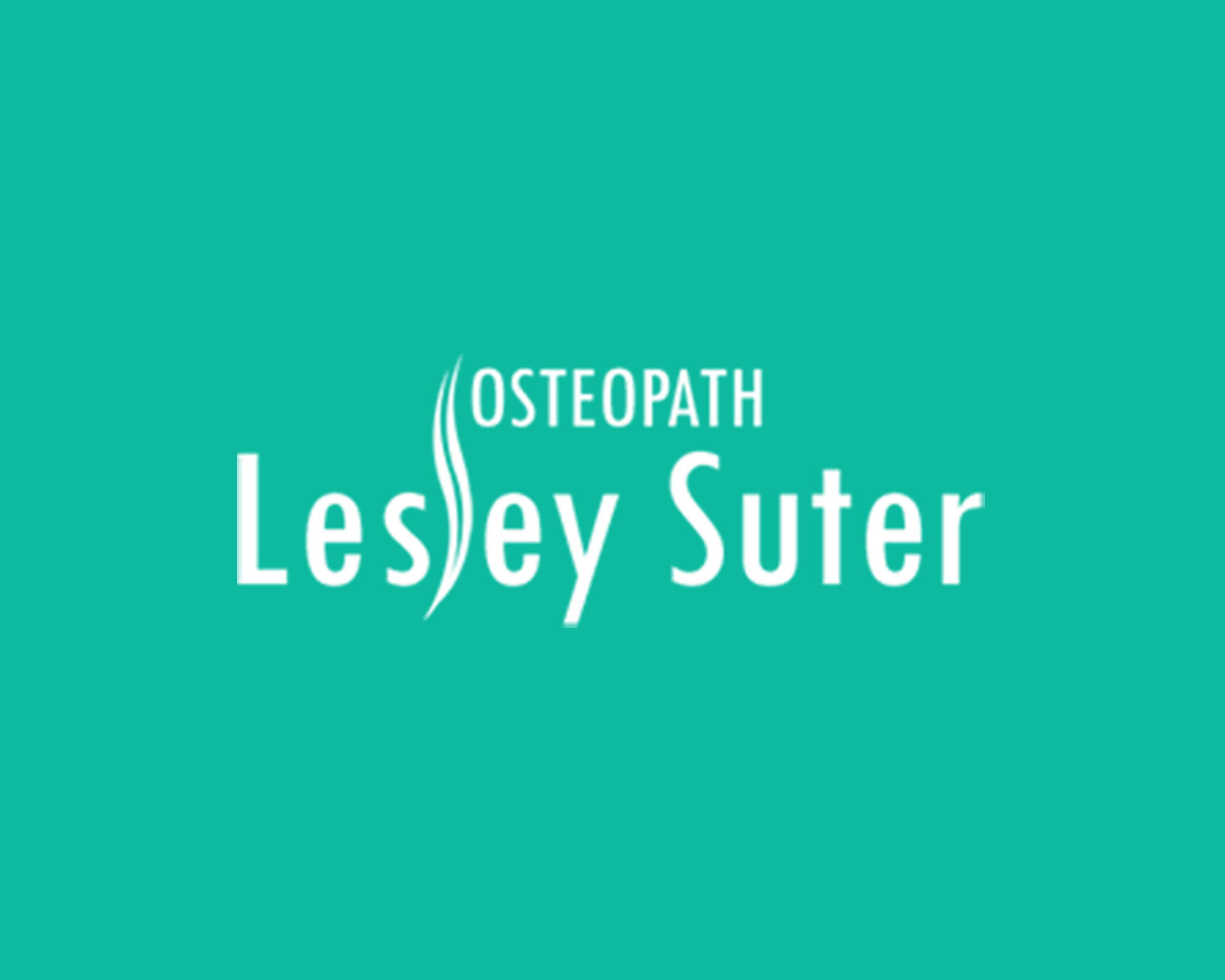 osteopath lesley suter Logo