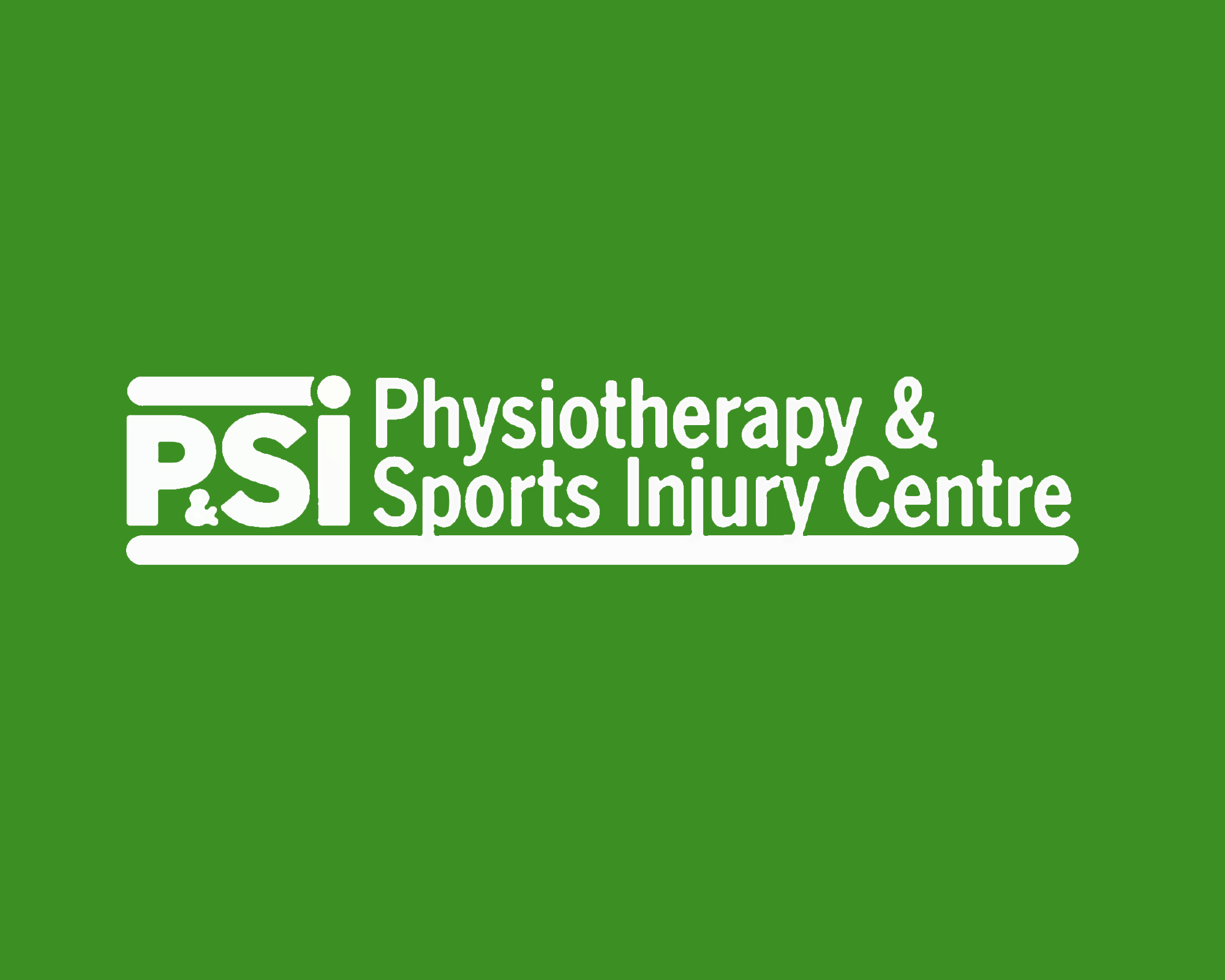 physiotherapy and sports injury centre Logo