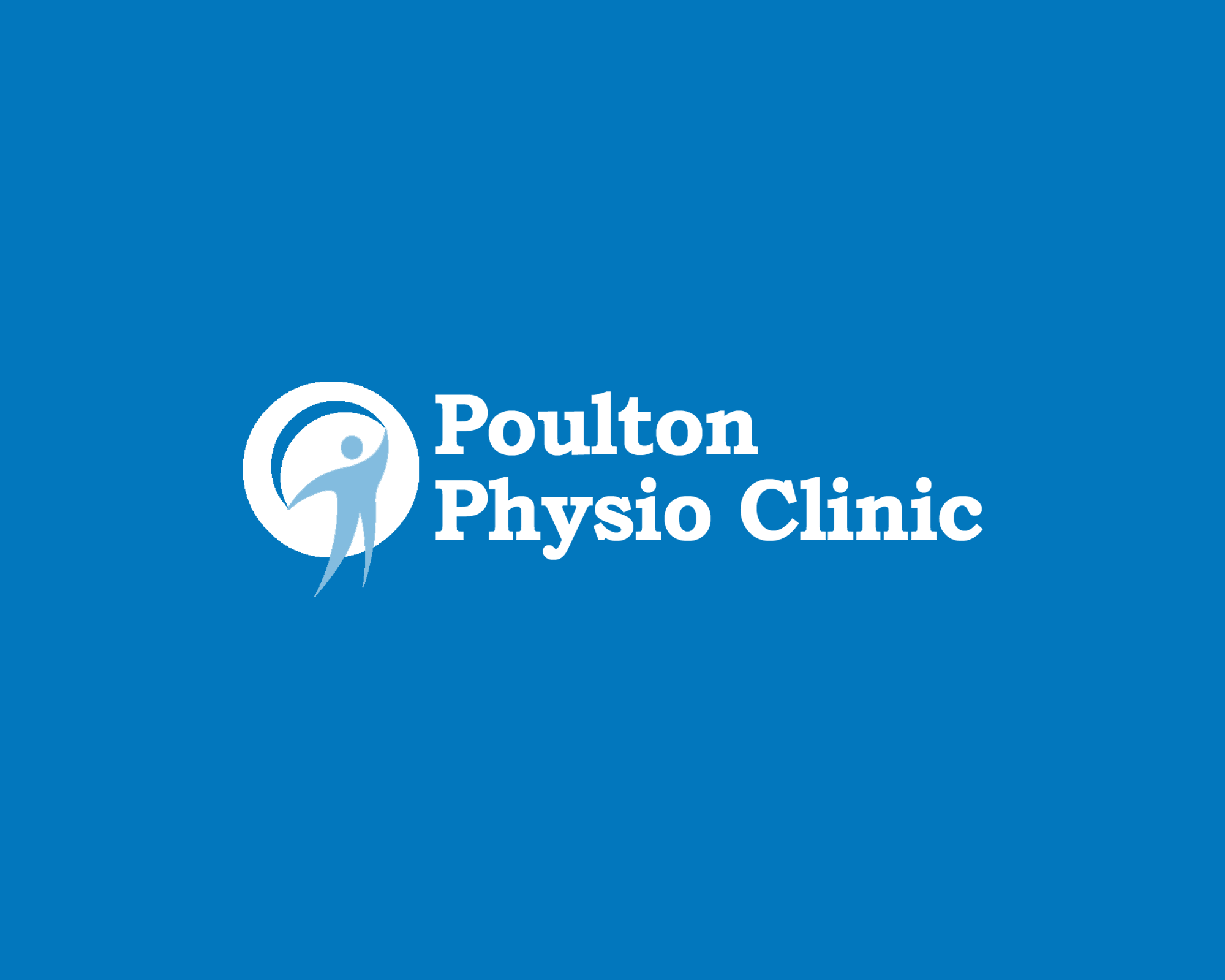 poulton physio clinic Logo