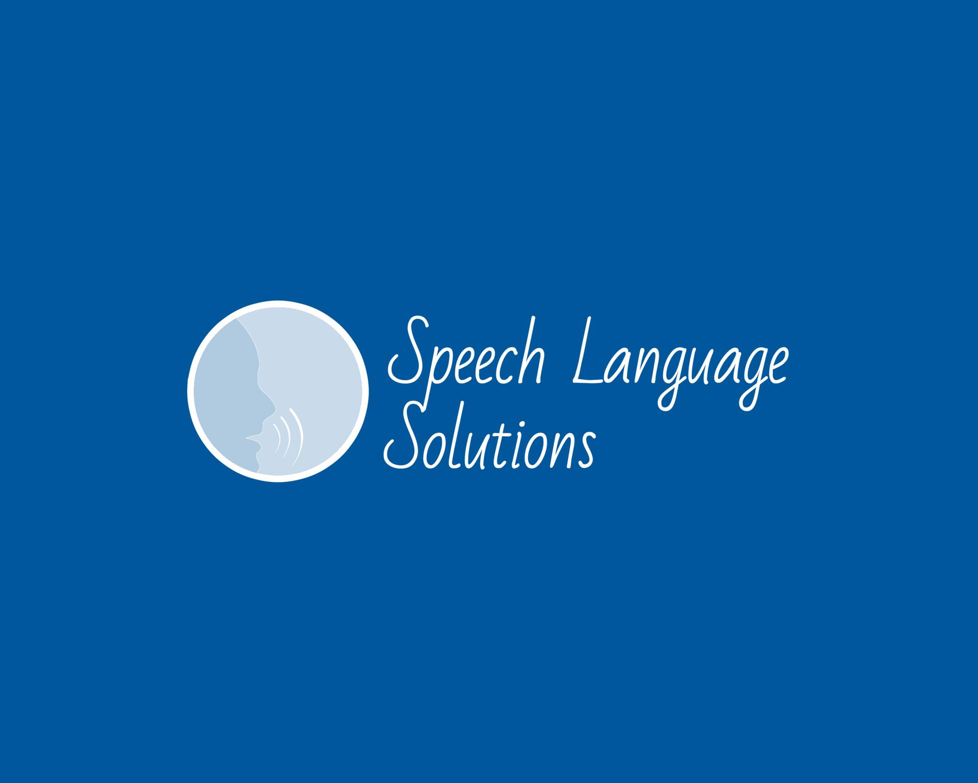 speech language solutions Logo