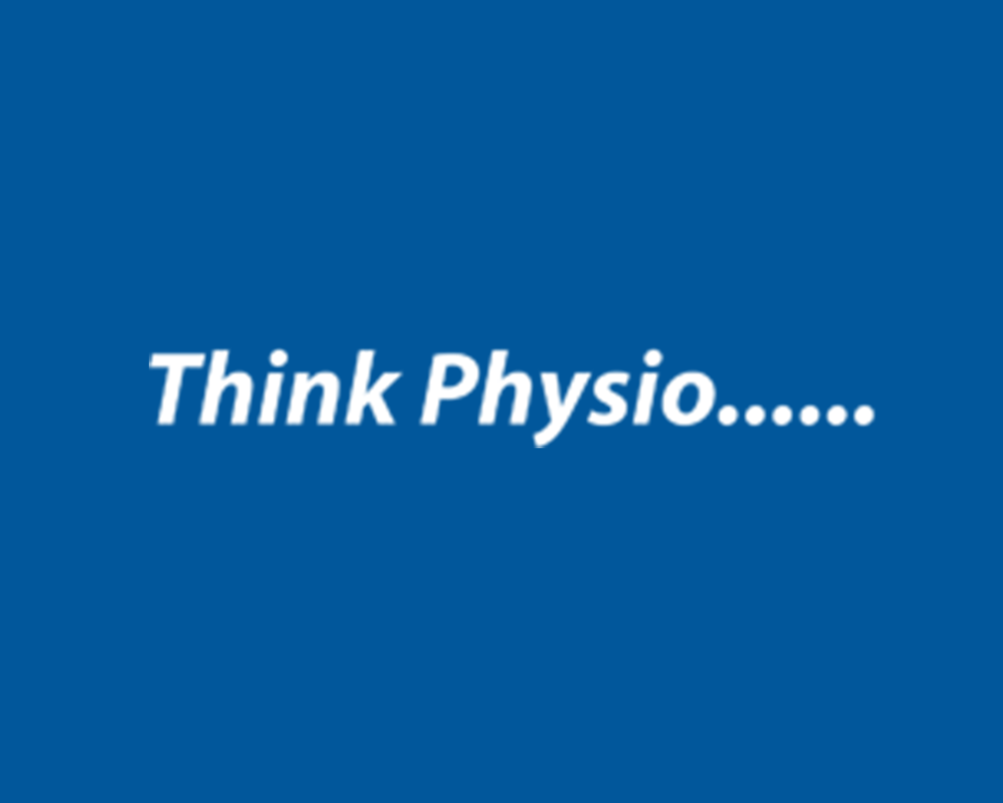 think physio Logo