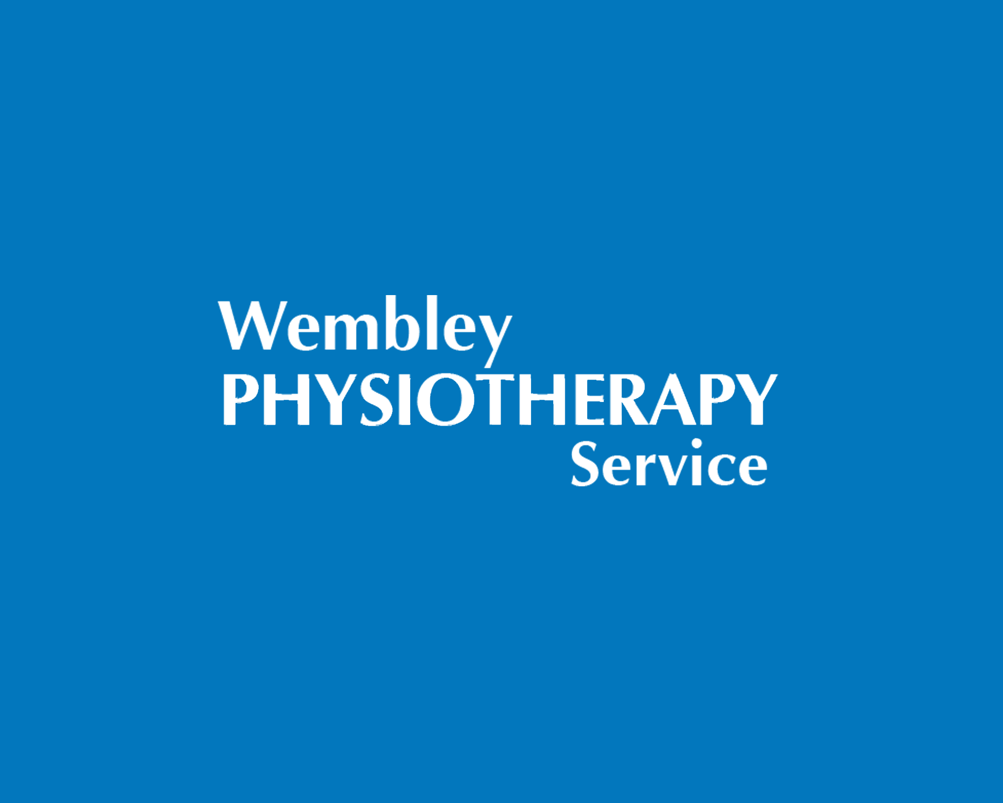 wembley physiotherapy service Logo