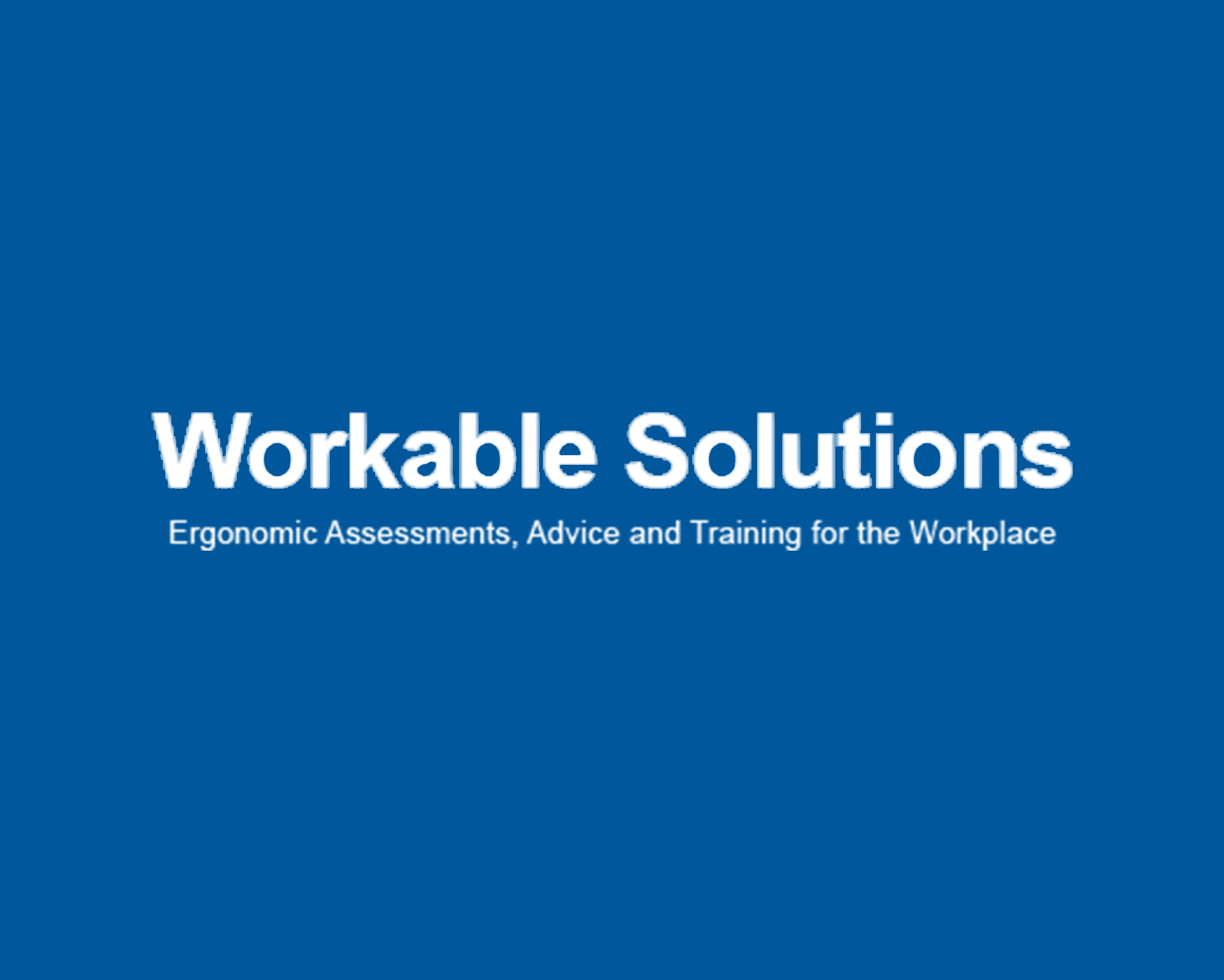 workable solutions Logo