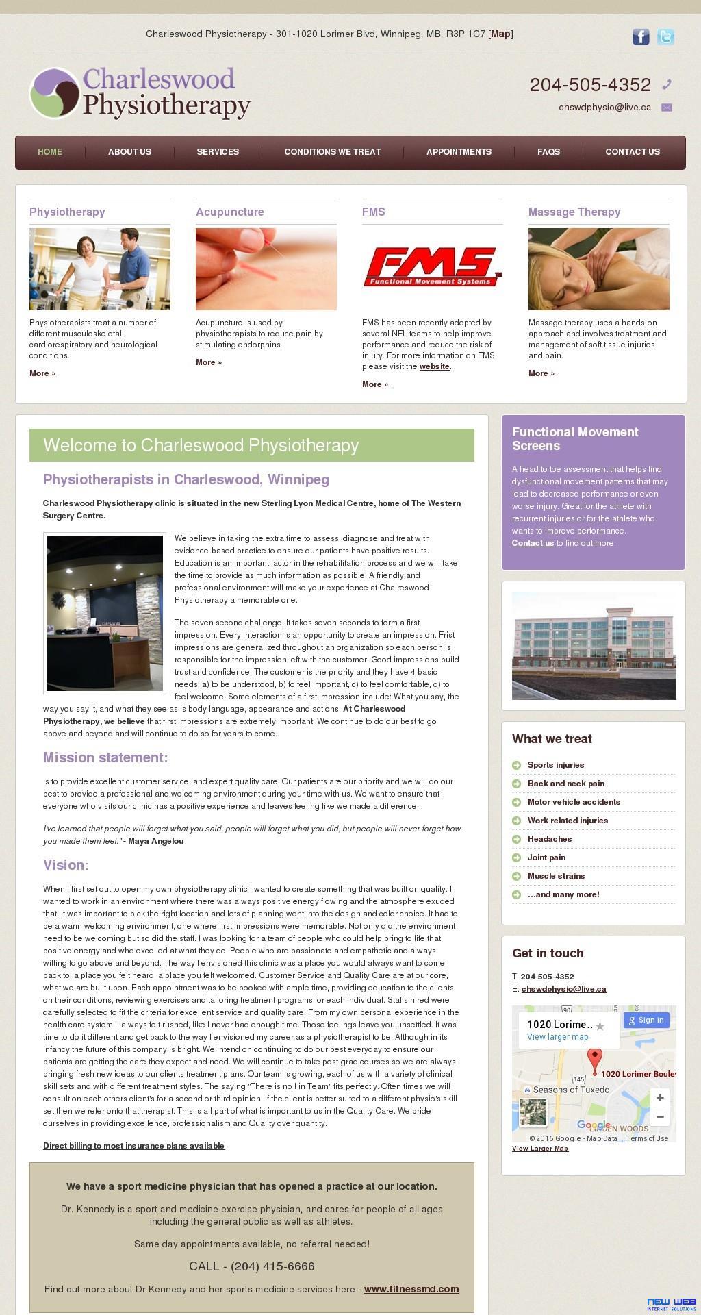 advantage physical therapyFull Site Screenshot